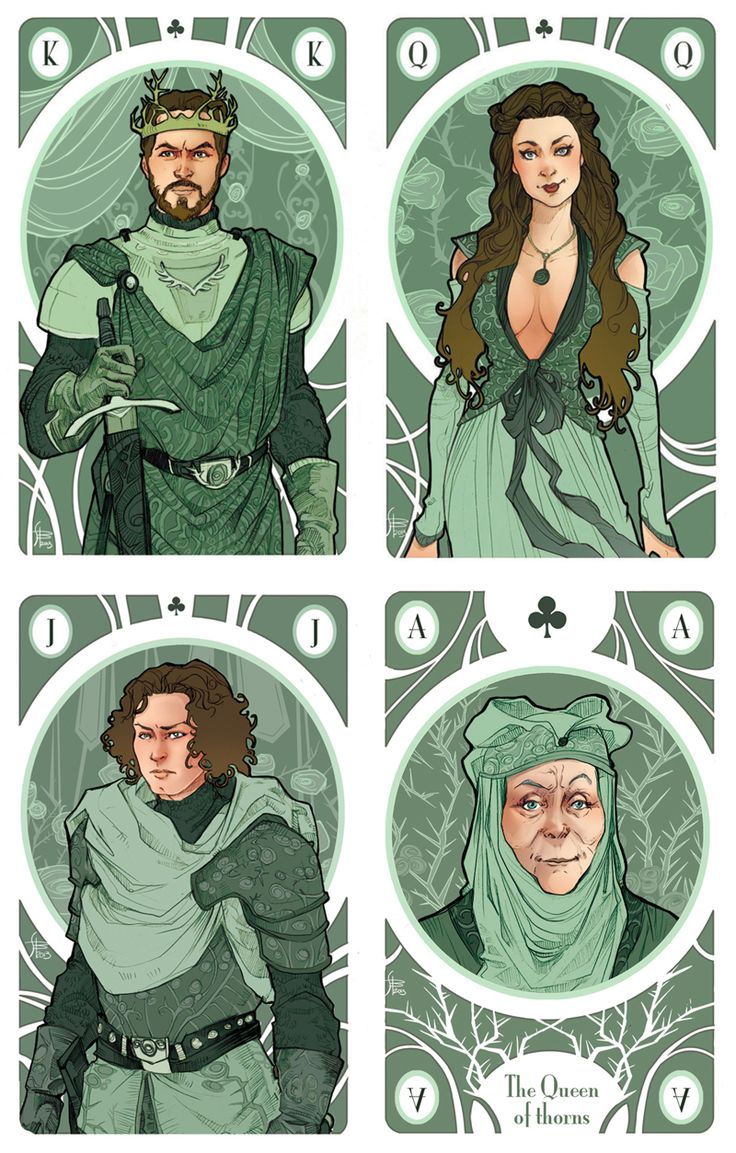 Game of Thrones by Simona Bonafini, the Tyrells the art on these is amazing!