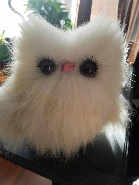 Check out this item in my Etsy shop https://www.etsy.com/listing/496240805/soft-sculpture-real-fur-owl-ooak-textile