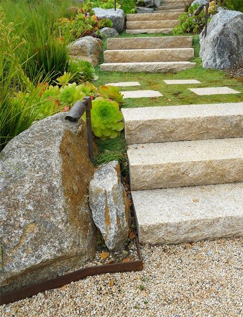 Steps Entryways, Steps And Courtyard Landscaping Network Calimesa, ...