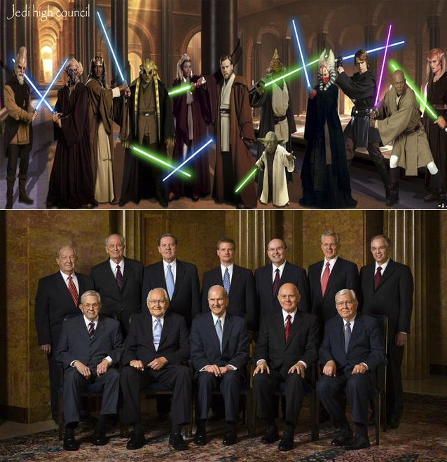 Definitive Proof the Jedi Council and Quorum of the 12 are the Same Thing | Mormon Buzzz