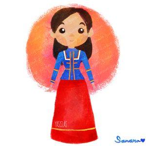 México colores y diseños de sus trajes típicos Sonora