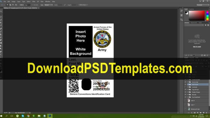 Id Templates Id Card Template Templates Card Templates Free