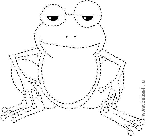 рисунки   лягушек.