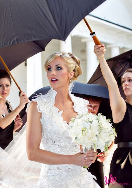 Candice Crawford in her Custom St. Pucchi Bridal Gown
