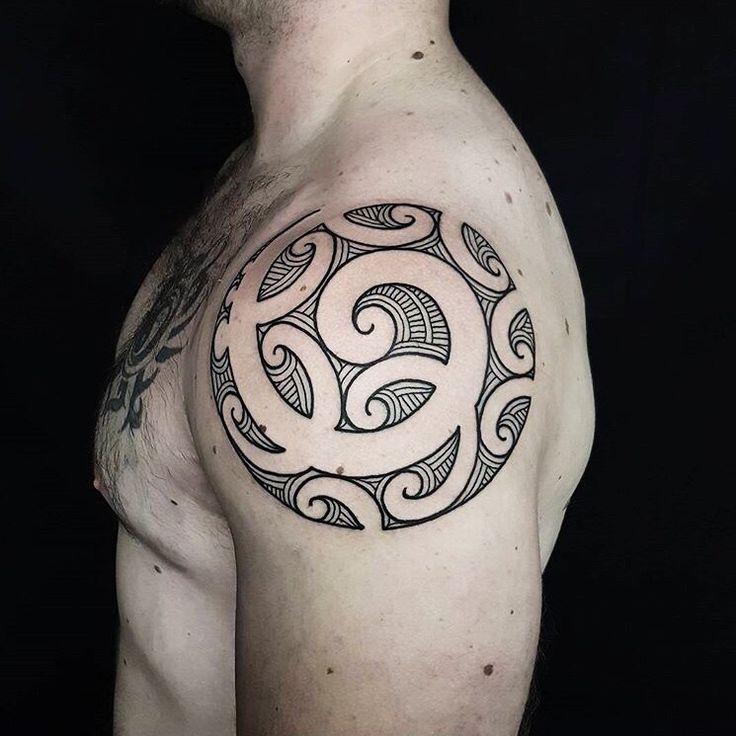 Tamoko done by Tristan (Dead Meat Tattoo) #sunsettattoonz www.sunsettattoo.co.nz