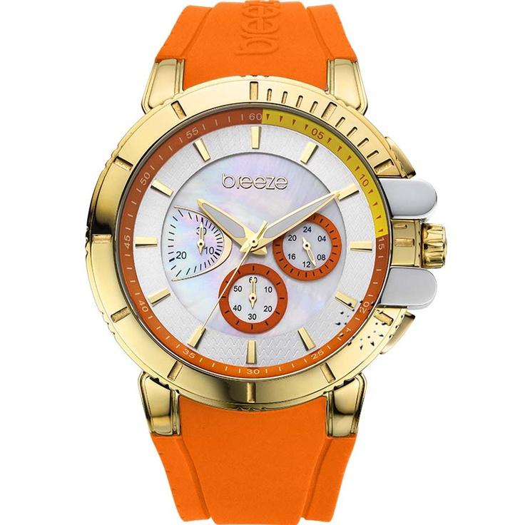 BREEZE 3D Shadow Chrono Orange Rubber Strap Μοντέλο: 110061.1 Τιμή: 165€ http://www.oroloi.gr/product_info.php?products_id=30531