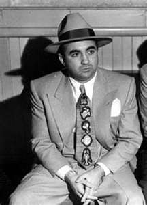 "Meyer Harris ""Mickey"" Cohen (September 4, 1913 – July 29, 1976) was a gangster based in Los Angeles and part of the Jewish Mafia, and also had strong ties to the American Mafia from the 1930s through 1960s. He helped set up the Flamingo Hotel in Las Vegas and ran its sports book operation. He was investigated, tried, & was convicted of tax evasion and sentenced to prison for four years. He died in his sleep."