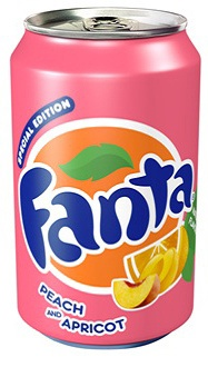Fanta Peach and Apricot Limited Edition. I wish I could find this because I would love to try it!