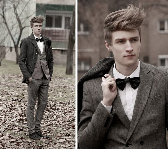 Blood is thicker than water (?) (by Zoltán Szilágyi) http://lookbook.nu/look/4638351-Blood-is-thicker-than-water