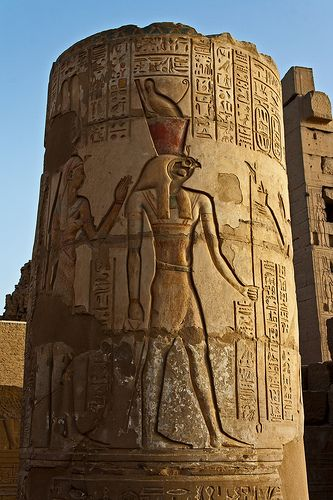 Kom Ombo Temple : he Temple of Kom Ombo is an unusual double temple built during the Ptolemaic dynasty in the Egyptian town of Kom Ombo.[1] Some additions to it were later made during the Roman period. The building is unique because its 'double' design meant that there were courts, halls, sanctuaries and rooms duplicated for two sets of gods.