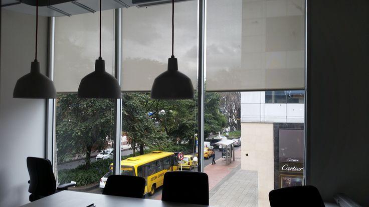 Cortinas Enrollables, fácil de limpiar y controla el brillo del sol Colombia 3125215698