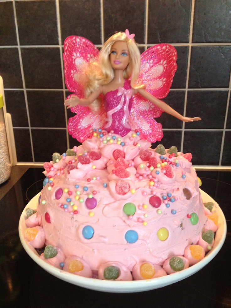 Cool Cake For A 7 Year Old Girls Birthday Kids Room Pinterest Personalised Birthday Cards Beptaeletsinfo