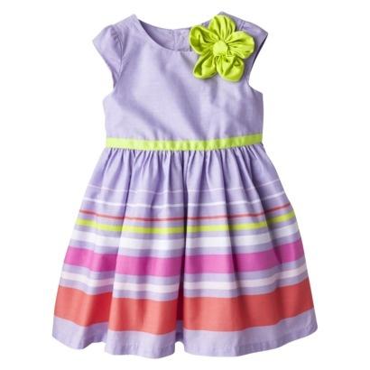 Cherokee® Infant Toddler Girls' Cap Sleeve Dress -