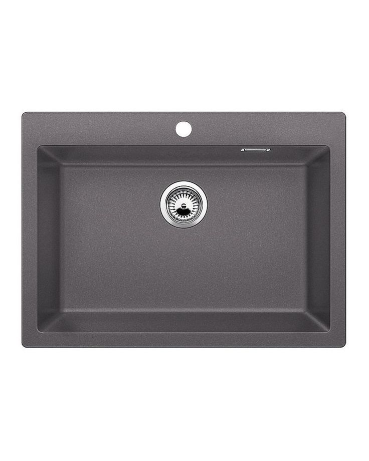 Sink Pleon 8 Rock Grey A sink with a large trough that will allow you to easily wash in larger utensils such as a pan. It is combined with many accessories which will further facilitate your work.