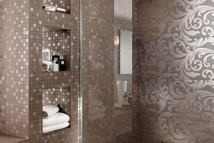 Rivestimenti bagno brilliant atlas concorde aurore satinata interior bagni classici e - Atlas concorde bagno ...