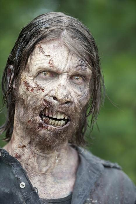 The Walking Dead Season 4 featured walker.