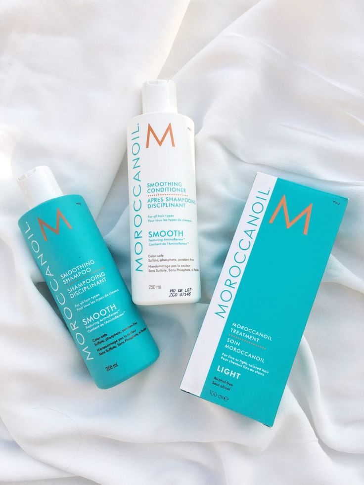 Smooth + Moroccanoil Treatment light