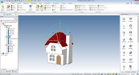 This is a view of one of the new glitter house buildings showing it in Ironcad the 3D CAD program that I love to use. At this point I hav...