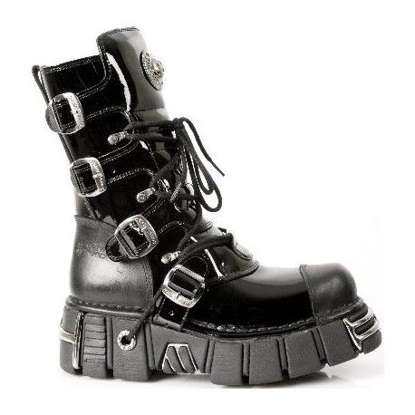 Black New Rock metallic acero collection cheap boots with buckles http://www.tribugotica.com/en/newrock/85-black-new-rock-metallic-collection-cheap-boots.html?utm_campaign=crowdfire&utm_content=crowdfire&utm_medium=social&utm_source=pinterest