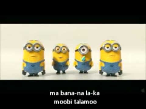 Despicable Me 2 Official Trailer - Minion Song + Lyrics. They're so cute! I need some.