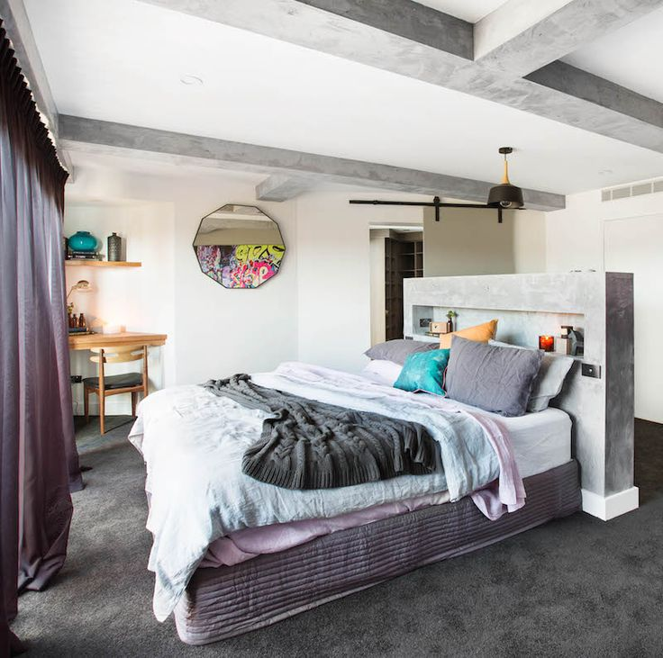 Caro and Kingi Room 3 | Master Bed & WIR - #theblock #theblockshop #bedroomstyle
