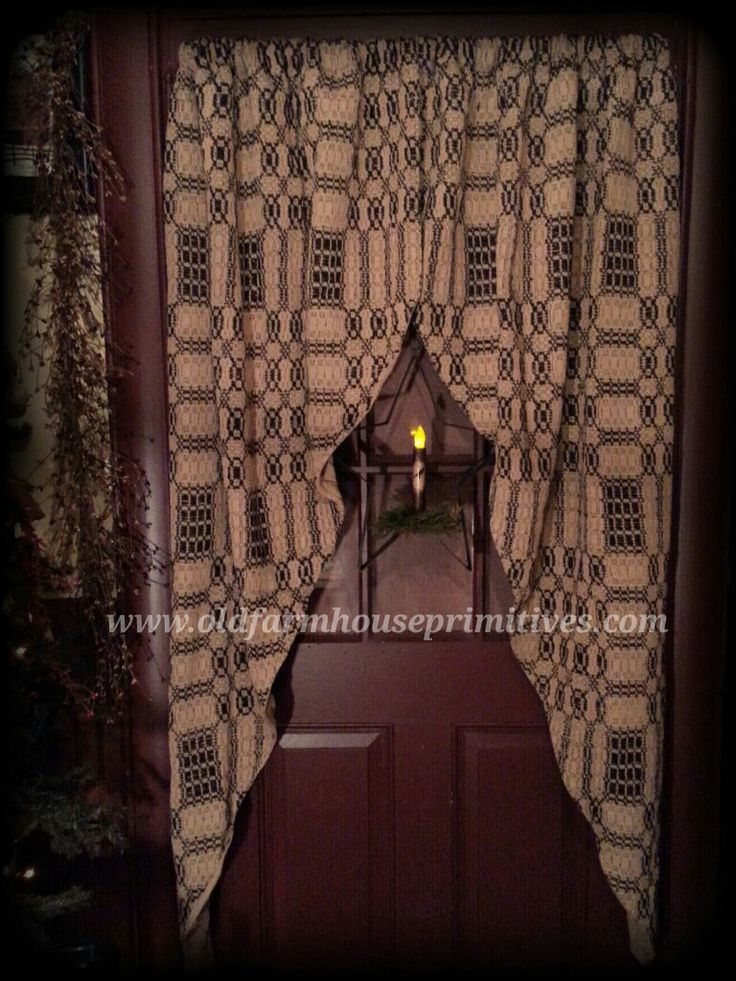 Enjoy A Collection Of Our Top Selling Primitive Curtains, A Great Addition  To Any Room Please Allow Weeks For Delivery On Curtains And Aaccessories.