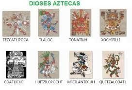 Image result for dioses aztecas