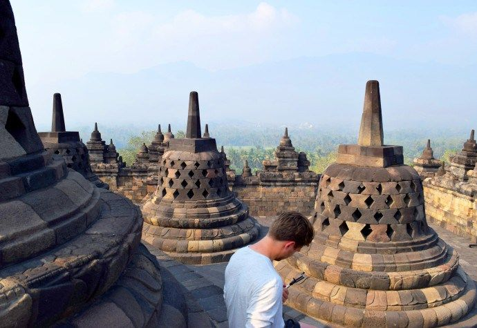 Java: Visiting the temples of Borobudur and Prambanan #gotripit #travelblog #travel #indonesia #Borobudur #Prambanan #Java #Yogyakarta