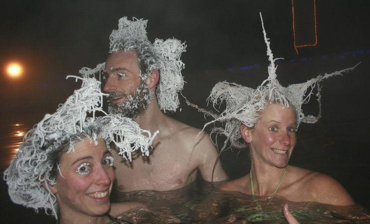 """""""International Hair Freezing contest"""" in Canada. Le stravaganti forme dei capelli ghiacciati spopolano sul web (FOTO)"""