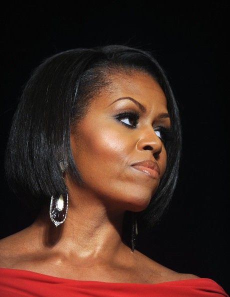 Obama haircut on pinterest michelle obama pictures michelle the michelle obama haircut looks stylish and fresh pmusecretfo Images
