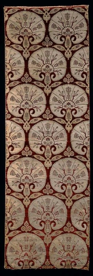 Fabric length      Turkish, Ottoman Period, 16th–17th century