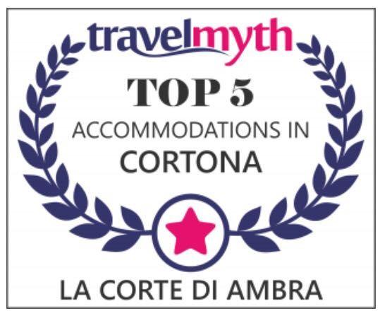 An other awards!!! ⭐⭐⭐⭐⭐ La Corte Di Ambra ⭐⭐⭐⭐⭐⭐ T O P 👍🏻 #LaCorteDiAmbra #cortonaluxuryrooms #travel #Cortona #tuscany #awards #travelmyth #luxurytravel #review #travellers #thebest #thankyou #hotel #smallluxuryhotel #top #excellent #beautiful #proud #happy #instatravel #good #love #people #holiday #amazing #wow #honeymoon #romantic #beautifuldestination