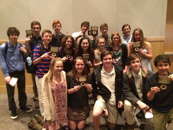 Congrats to #NHD winners from Western Albemarle Rho Kappa!