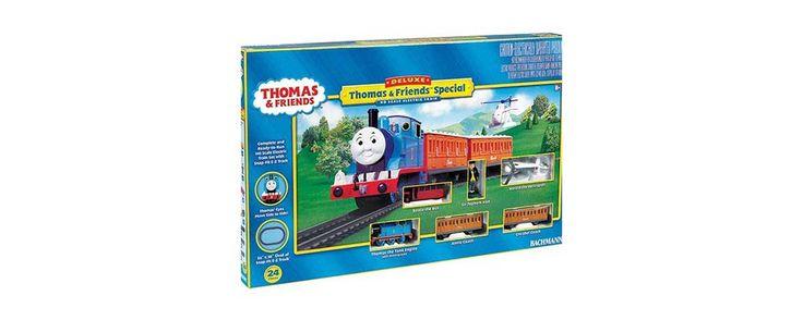 Bachmann HO Standard Gauge Deluxe Thomas & Friends Special E-Z Track Set