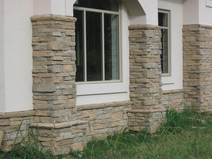Stone Column Foundation : Best images about wv stone columns on pinterest faux