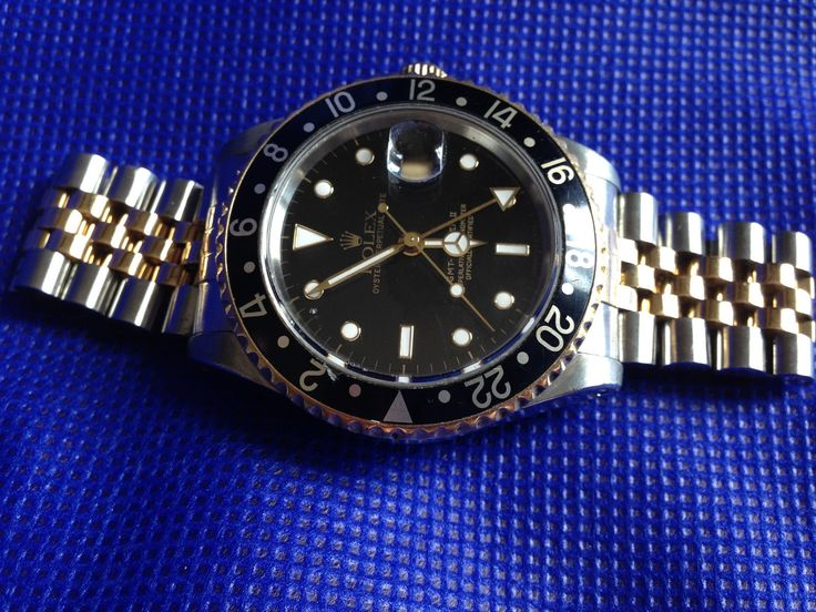 #Forsale #Rolex Mens Gmt Master II Perpetual Oyster 40 Mm Steel and Yellow Gold Dual Time - Price @$4,695.00