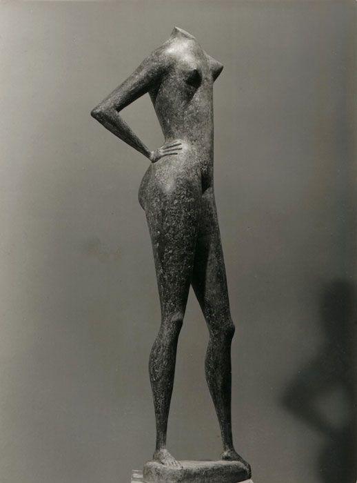Marcello Mascherini, Bagnante – Frammento (1956), Christchurch Art Gallery, Christchurch, New Zealand