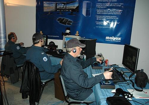 Le Québec Air Force au salon 2011.
