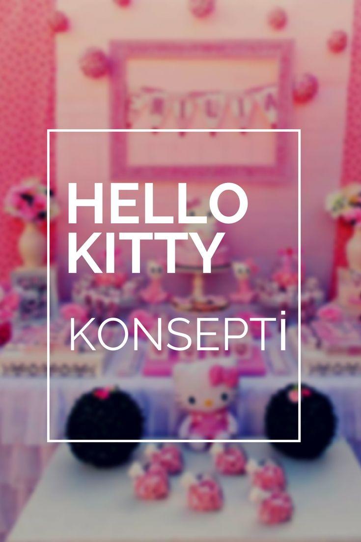 Hello Kitty doğum günü kutlaması ile renkli ve eğlenceli bir doğum günü partisi. Kıyafetler, pastalar ve diğer detaylar ile unutulmaz bir doğum günü için..