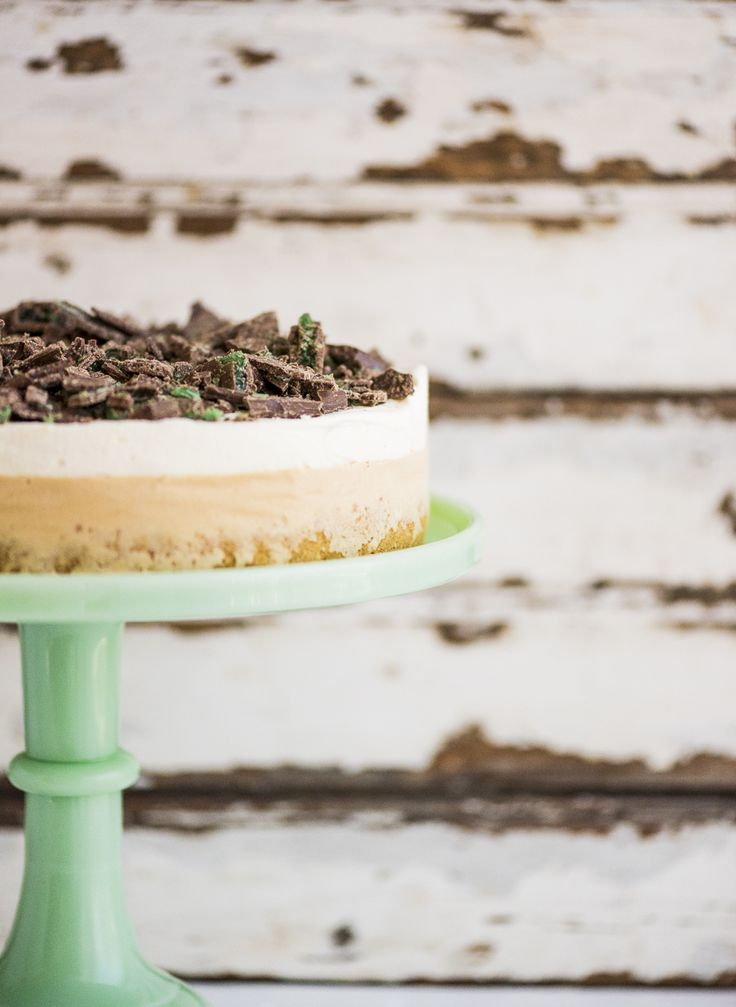 Summer time is ice cream cake time, Peppermint Crisp Ice Cream Cake time to be precise.
