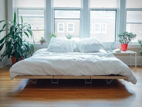Floyd, um fabricante de móveis Ikea alternativo de Detroit, e os criadores do popular Floyd Leg. Eles apresentaram aPlataforma para Cama Floyd.Esta Plataforma para Cama é no mínimo fácil de montar, são painéis modulare