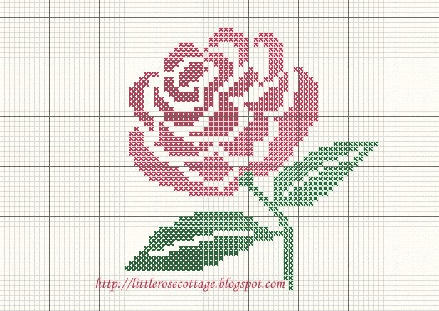 ♥ ♥ cross stitch Archives: flowers