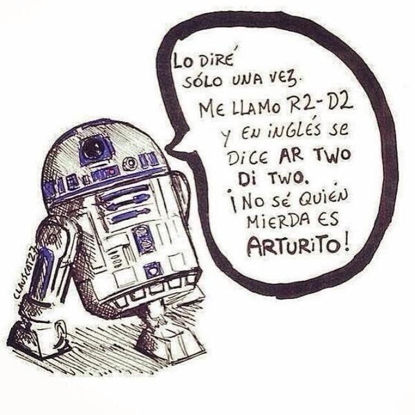 Y la lucha diaria del pobre R2-D2. | 22 Chistes que solo los amantes de Star Wars entenderán
