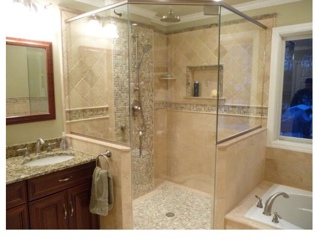17 best images about philadelphia travertine bathroom on for Bathroom tile philadelphia