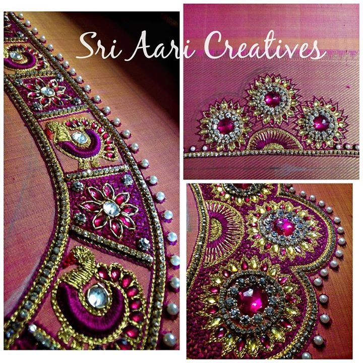 For orders contact Sri aari Creatives - 9842995293