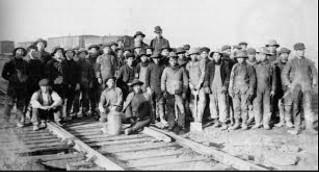 The people that worked on the railway