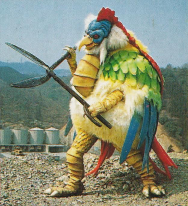 Chicken monster from the Power Rangers