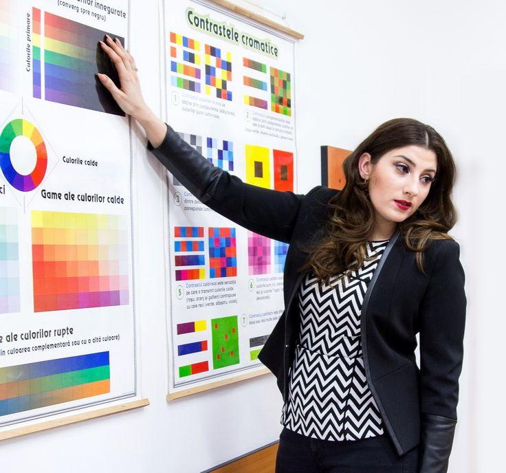 Crearea a propriei imagini - Curs Stilist Vestimentar, sustinut de consultantul de Imagine Mariana Romanica, in cadrul Institutului de Moda Salomeia Truta.