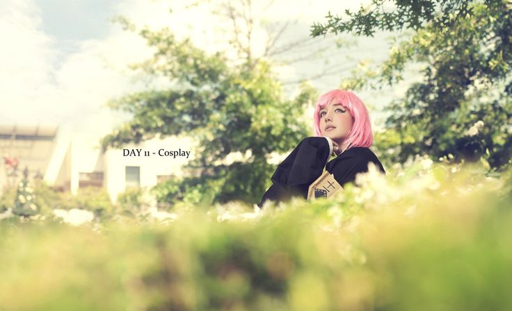 This was my second cosplay of 2012, I didn't make the outfit but I did make her vice captain badge and sword  This is Kusajishi Yachiru from Bleach and I wore it once, to a picnic in November 2012 where I met a lot of cosplayers and this is where I feel I joined the South African cosplay community officially.