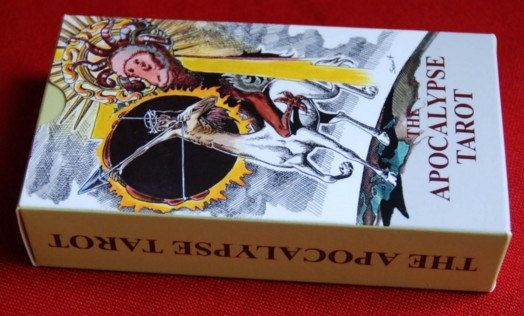 The Tarot of the Apocalypse tarot deck by TarotApocalypse on Etsy, zł95.00